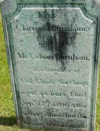 NORTHRUP, CLARISSA - Berkshire County, Massachusetts | CLARISSA NORTHRUP - Massachusetts Gravestone Photos