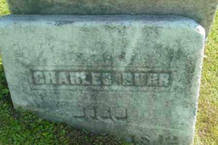 BURR, CHARLES - Berkshire County, Massachusetts   CHARLES BURR - Massachusetts Gravestone Photos
