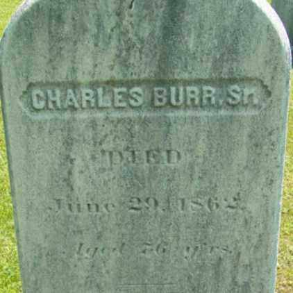 BURR, CHARLES - Berkshire County, Massachusetts | CHARLES BURR - Massachusetts Gravestone Photos