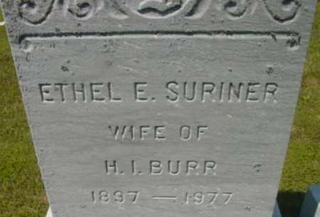 BURR, ETHEL E - Berkshire County, Massachusetts   ETHEL E BURR - Massachusetts Gravestone Photos