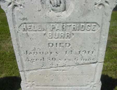 BURR, HELEN - Berkshire County, Massachusetts   HELEN BURR - Massachusetts Gravestone Photos
