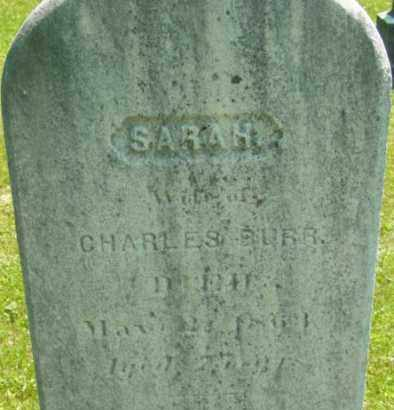 BURR, SARAH - Berkshire County, Massachusetts | SARAH BURR - Massachusetts Gravestone Photos
