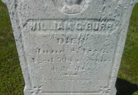 BURR, WILLIAM C - Berkshire County, Massachusetts | WILLIAM C BURR - Massachusetts Gravestone Photos