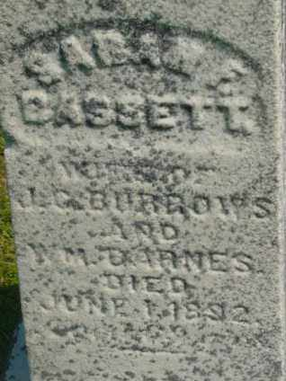 BURROWS, SARAH F - Berkshire County, Massachusetts | SARAH F BURROWS - Massachusetts Gravestone Photos