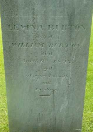 BURTON, LEVINA - Berkshire County, Massachusetts | LEVINA BURTON - Massachusetts Gravestone Photos