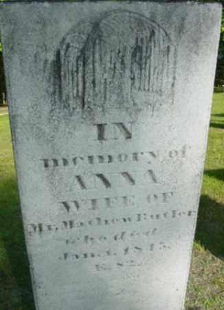 BUTLER, ANNA - Berkshire County, Massachusetts | ANNA BUTLER - Massachusetts Gravestone Photos