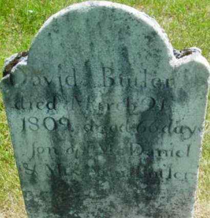 BUTLER, DAVID - Berkshire County, Massachusetts   DAVID BUTLER - Massachusetts Gravestone Photos