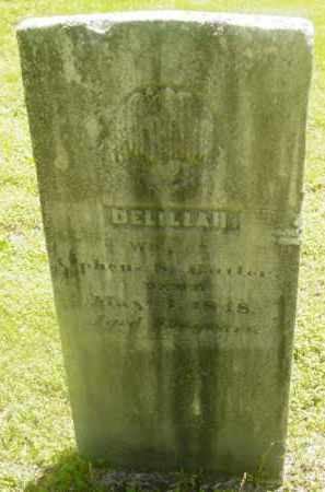BUTLER, DELILAH - Berkshire County, Massachusetts | DELILAH BUTLER - Massachusetts Gravestone Photos
