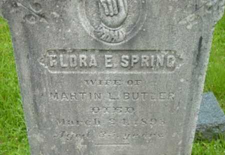 BUTLER, FLORA E - Berkshire County, Massachusetts | FLORA E BUTLER - Massachusetts Gravestone Photos