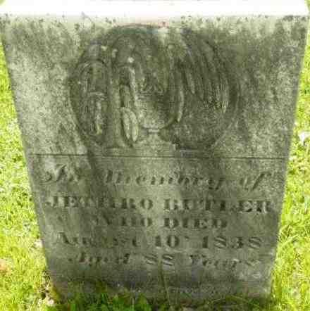 BUTLER, JETHRO - Berkshire County, Massachusetts | JETHRO BUTLER - Massachusetts Gravestone Photos