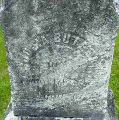 BUTLER, JULIA - Berkshire County, Massachusetts | JULIA BUTLER - Massachusetts Gravestone Photos
