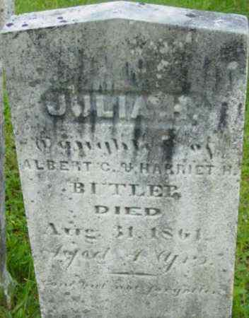 BUTLER, JULIA H - Berkshire County, Massachusetts   JULIA H BUTLER - Massachusetts Gravestone Photos