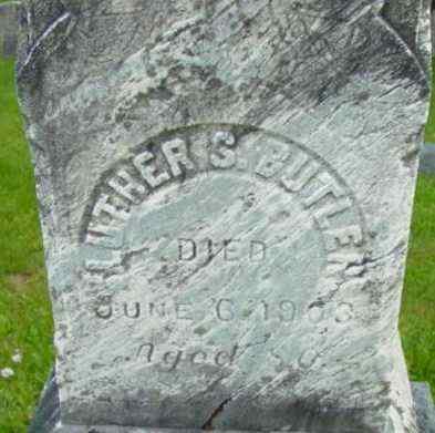 BUTLER, LUTHER S - Berkshire County, Massachusetts | LUTHER S BUTLER - Massachusetts Gravestone Photos