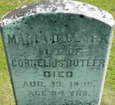 BUTLER, MARIA D - Berkshire County, Massachusetts | MARIA D BUTLER - Massachusetts Gravestone Photos