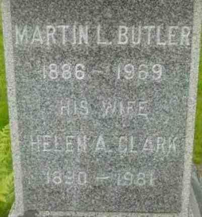 BUTLER, HELEN A - Berkshire County, Massachusetts | HELEN A BUTLER - Massachusetts Gravestone Photos