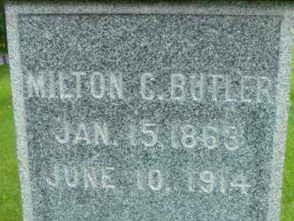 BUTLER, MILTON C - Berkshire County, Massachusetts   MILTON C BUTLER - Massachusetts Gravestone Photos
