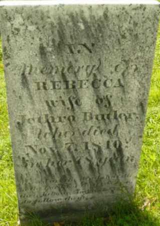 BUTLER, REBECCA - Berkshire County, Massachusetts | REBECCA BUTLER - Massachusetts Gravestone Photos