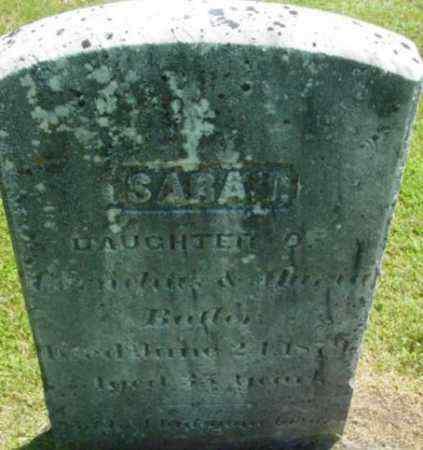 BUTLER, SARAH - Berkshire County, Massachusetts   SARAH BUTLER - Massachusetts Gravestone Photos