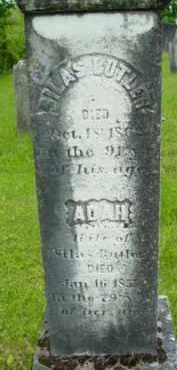 BUTLER, ADAH - Berkshire County, Massachusetts | ADAH BUTLER - Massachusetts Gravestone Photos