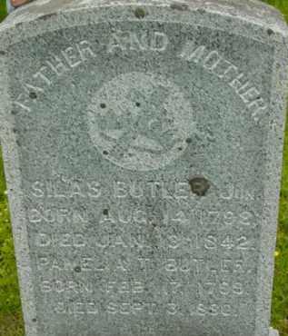 TALCOTT BUTLER, PAMELIA - Berkshire County, Massachusetts | PAMELIA TALCOTT BUTLER - Massachusetts Gravestone Photos