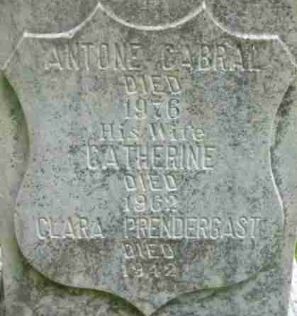 CABRAL, CATHERINE - Berkshire County, Massachusetts | CATHERINE CABRAL - Massachusetts Gravestone Photos