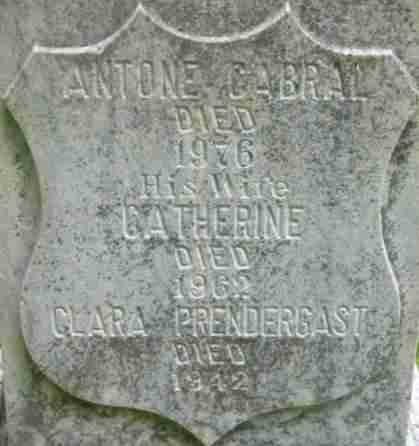 PRENDERGAST, CLARA - Berkshire County, Massachusetts | CLARA PRENDERGAST - Massachusetts Gravestone Photos