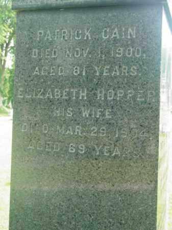 HOPPER, ELIZABETH - Berkshire County, Massachusetts | ELIZABETH HOPPER - Massachusetts Gravestone Photos