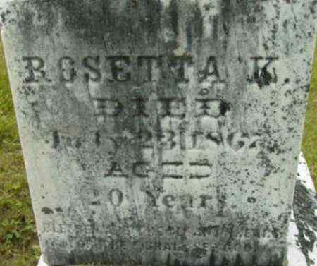 CALLAN, ROSETTA K - Berkshire County, Massachusetts   ROSETTA K CALLAN - Massachusetts Gravestone Photos