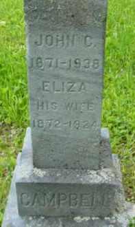 CAMPBELL, ELIZA - Berkshire County, Massachusetts   ELIZA CAMPBELL - Massachusetts Gravestone Photos