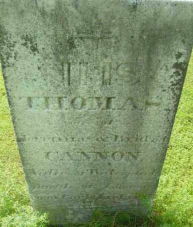 CANNON, THOMAS - Berkshire County, Massachusetts | THOMAS CANNON - Massachusetts Gravestone Photos