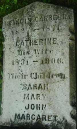 CARBERRY, MARY - Berkshire County, Massachusetts | MARY CARBERRY - Massachusetts Gravestone Photos