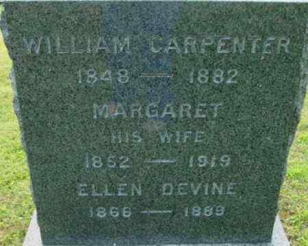 CARPENTER, MARGARET - Berkshire County, Massachusetts   MARGARET CARPENTER - Massachusetts Gravestone Photos