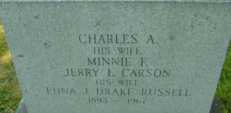 CARSON, EDNA J - Berkshire County, Massachusetts | EDNA J CARSON - Massachusetts Gravestone Photos