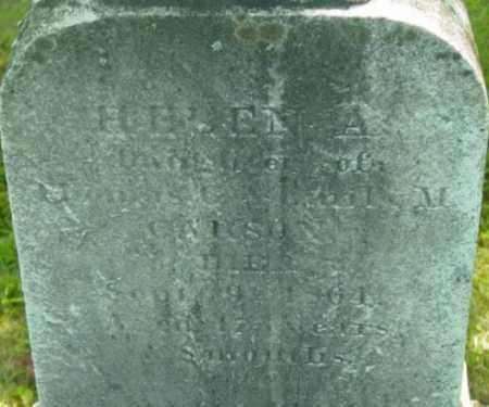 CARSON, HELEN A - Berkshire County, Massachusetts   HELEN A CARSON - Massachusetts Gravestone Photos