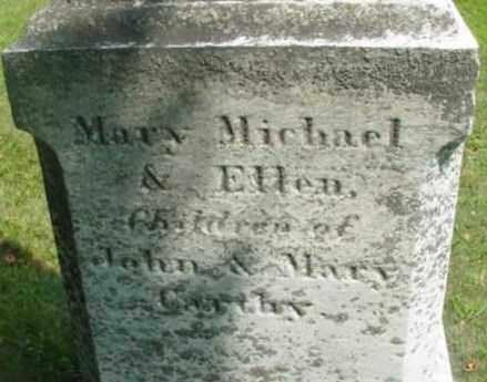 CARTHY, ELLEN - Berkshire County, Massachusetts   ELLEN CARTHY - Massachusetts Gravestone Photos