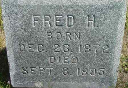 CHADWICK, FRED H - Berkshire County, Massachusetts | FRED H CHADWICK - Massachusetts Gravestone Photos