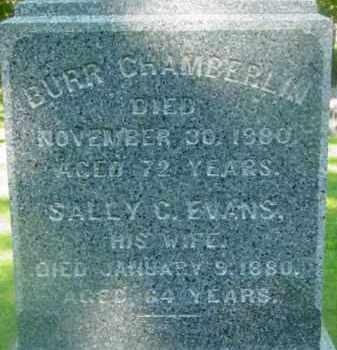 CHAMBERLIN, BURR - Berkshire County, Massachusetts   BURR CHAMBERLIN - Massachusetts Gravestone Photos