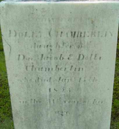 CHAMBERLIN, DOLLY - Berkshire County, Massachusetts   DOLLY CHAMBERLIN - Massachusetts Gravestone Photos