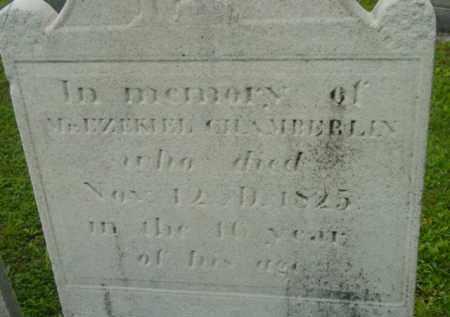 CHAMBERLIN, EZEKIEL - Berkshire County, Massachusetts   EZEKIEL CHAMBERLIN - Massachusetts Gravestone Photos