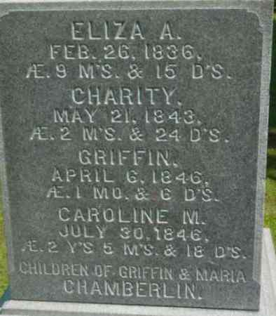 CHAMBERLIN, ELIZA A - Berkshire County, Massachusetts | ELIZA A CHAMBERLIN - Massachusetts Gravestone Photos