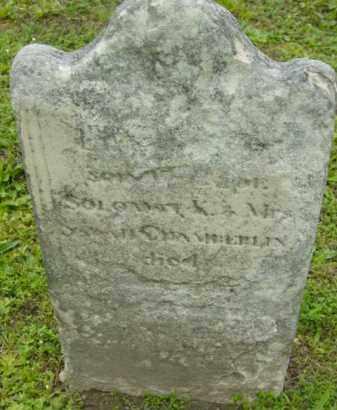 CHAMBERLIN, ELMER - Berkshire County, Massachusetts | ELMER CHAMBERLIN - Massachusetts Gravestone Photos