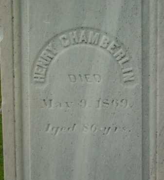 CHAMBERLIN, HENRY - Berkshire County, Massachusetts | HENRY CHAMBERLIN - Massachusetts Gravestone Photos