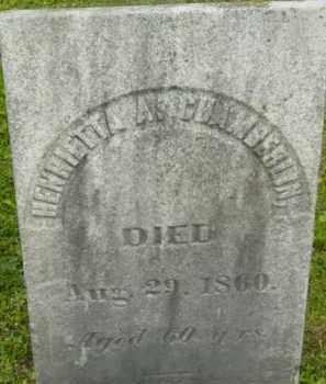 CHAMBERLIN, HENRIETTA A - Berkshire County, Massachusetts | HENRIETTA A CHAMBERLIN - Massachusetts Gravestone Photos