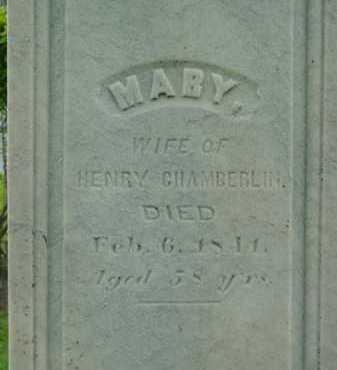CHAMBERLIN, MARY - Berkshire County, Massachusetts | MARY CHAMBERLIN - Massachusetts Gravestone Photos