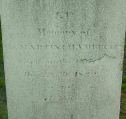 CHAMBERLIN, MARTIN - Berkshire County, Massachusetts   MARTIN CHAMBERLIN - Massachusetts Gravestone Photos