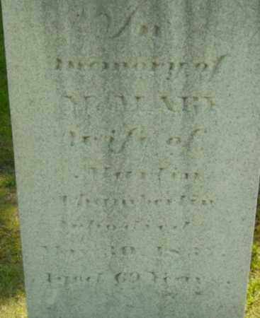 CHAMBERLIN, MARY - Berkshire County, Massachusetts   MARY CHAMBERLIN - Massachusetts Gravestone Photos