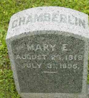 CHAMBERLIN, MARY E - Berkshire County, Massachusetts | MARY E CHAMBERLIN - Massachusetts Gravestone Photos