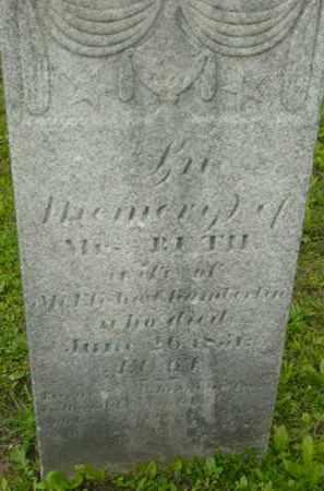CHAMBERLIN, RUTH - Berkshire County, Massachusetts   RUTH CHAMBERLIN - Massachusetts Gravestone Photos