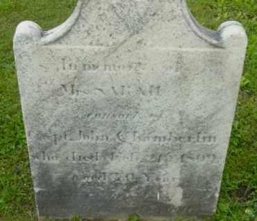CHAMBERLIN, SARAH - Berkshire County, Massachusetts | SARAH CHAMBERLIN - Massachusetts Gravestone Photos