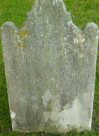 CHAPEL, STEPHEN - Berkshire County, Massachusetts | STEPHEN CHAPEL - Massachusetts Gravestone Photos